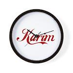 Karim name Wall Clock