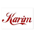 Karim name Postcards (Package of 8)