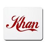 Khan name Mousepad