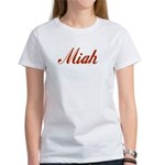 Miah name Women's T-Shirt