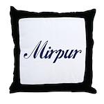 Mirpur Throw Pillow