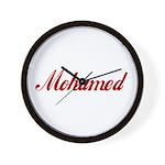 Mohamed name Wall Clock