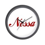 Nessa name Wall Clock