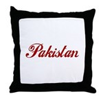 Pakistan Throw Pillow