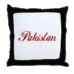 Pakistan Throw Pillow