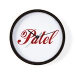 Patel name Wall Clock
