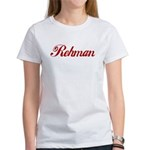 Rehman name Women's T-Shirt