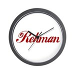 Rehman name Wall Clock