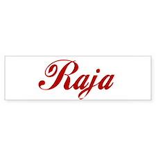 Raja name Sticker (Bumper)