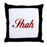 Shah name Throw Pillow