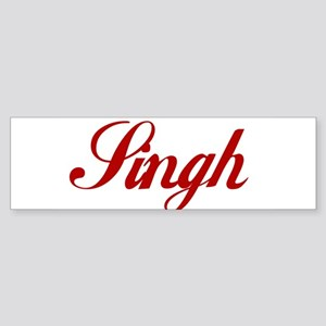 Singh name Sticker (Bumper)