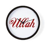 Ullah name Wall Clock