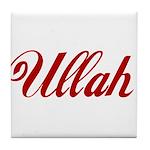 Ullah name Tile Coaster