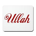 Ullah name Mousepad