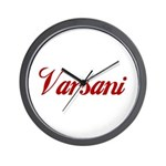 Varsani name Wall Clock
