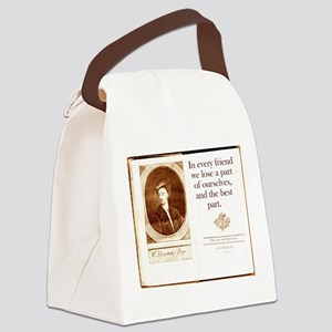 In Every Friend - Alexander Pope Canvas Lunch Bag