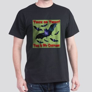 Happy Halloween Bat Swarm Swa Dark T-Shirt