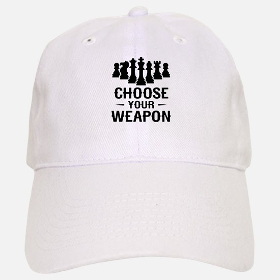 Chess Choose Your Weapon Baseball Baseball Baseball Cap
