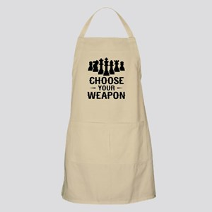 Chess Choose Your Weapon Light Apron