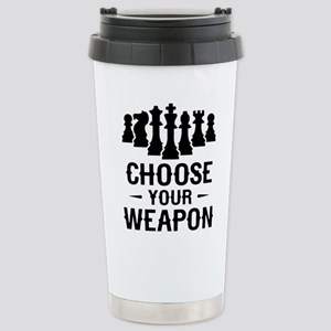 Chess Choose Your Weapon Mugs