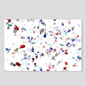 Pills - Postcards (Pk of 8)