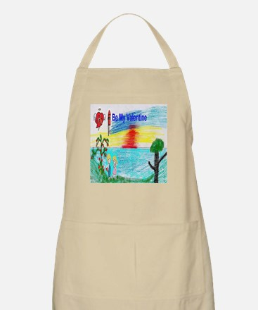 Be My Valentine Kids Apron