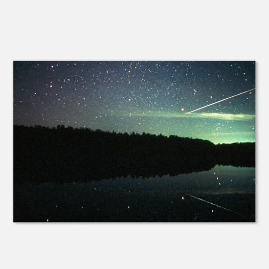 Meteor over lake - Postcards (Pk of 8)