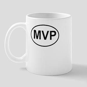 MVP Most Valuable Player Oval Mug