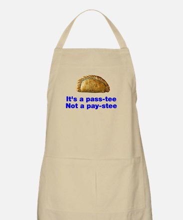 Pasty is a pass-tee Apron