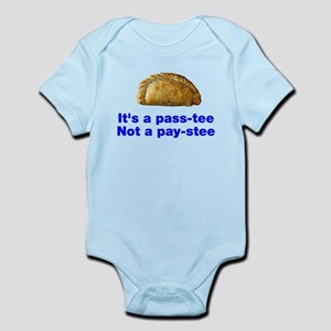 Pasty is a pass-tee Infant Bodysuit