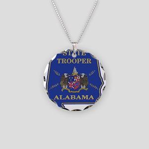 Alabama ST door seal Necklace Circle Charm