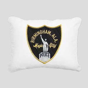 Birmingham Police patch Rectangular Canvas Pillow