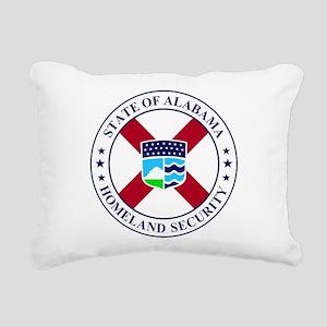 Alabama DHS seal Rectangular Canvas Pillow