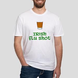 Irish Flu Shot Fitted T-Shirt