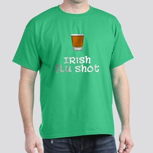 Irish Flu Shot Dark T-Shirt