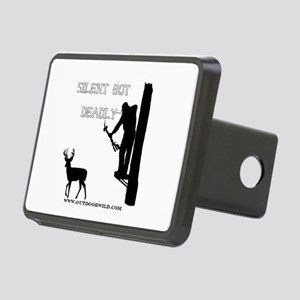 Silent But deadly Rectangular Hitch Cover