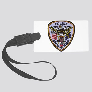Juneau Police patch Large Luggage Tag