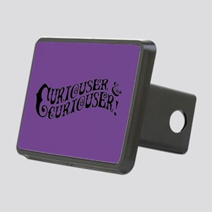 Curiouser And Curiouser Rectangular Hitch Cover
