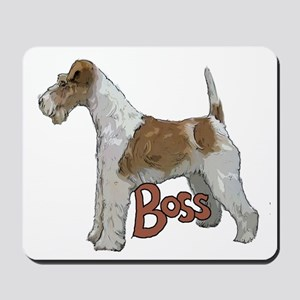 Wirehaired Fox Terrier Mousepad