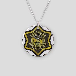 Arkansas SP patch Necklace Circle Charm