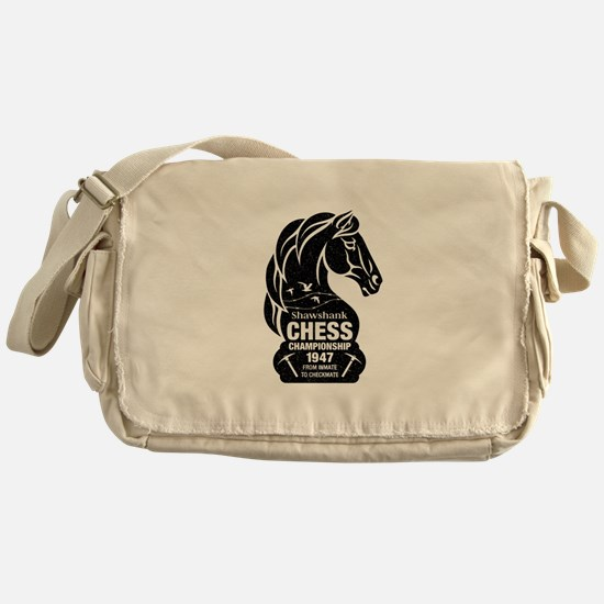 Shawshank Chess Championship Messenger Bag