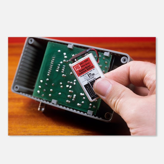 Rechargeable battery - Postcards (Pk of 8)