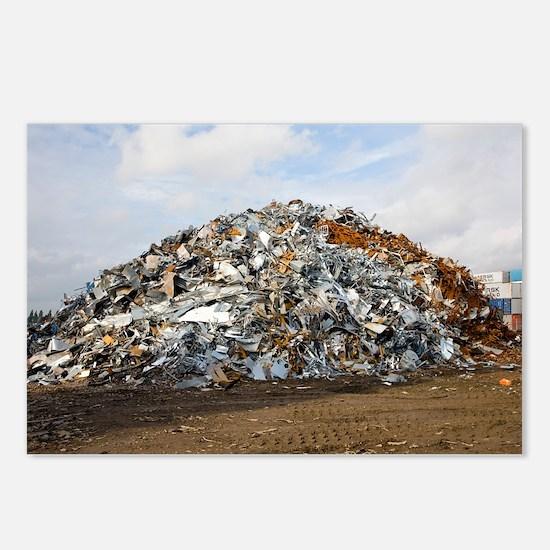 Scrap metal - Postcards (Pk of 8)