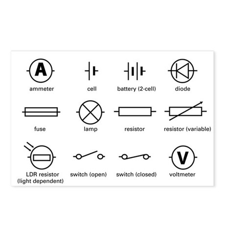 Bs electrical schematic symbols