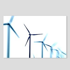 Wind turbines - Postcards (Pk of 8)
