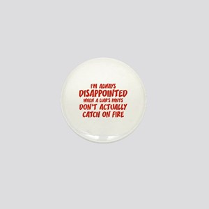 Liar Liar Pants On Fire Mini Button