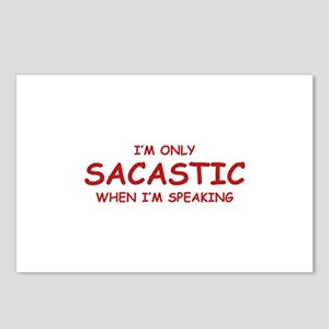 Sarcastic When I'm Speaking Postcards (Package of