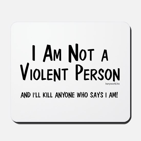 Non-Violent Mousepad