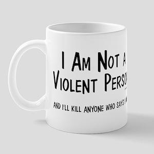 Non-Violent Mug