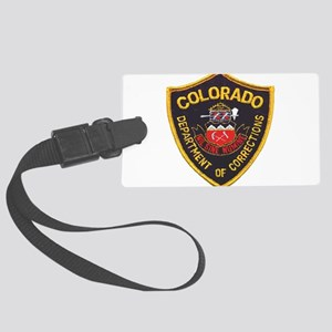 Colorado DOC patch Large Luggage Tag